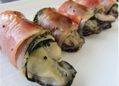 牡蠣ベーコン巻き