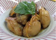 牡蠣しぐれ煮